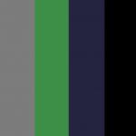 Negro/Gris/verde/Azul