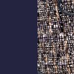 Azul Marino/Tejido estampado